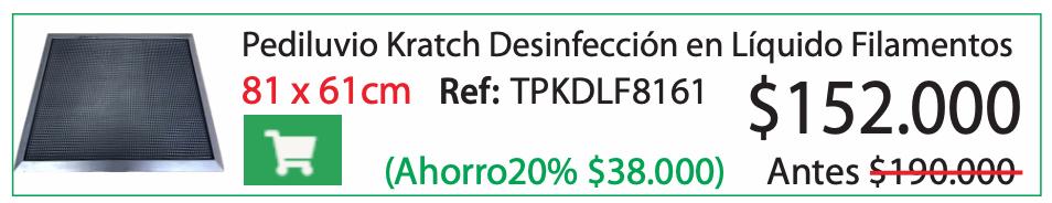 Pediluvio Kratch Desinfección en Líquido Filamentos